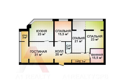 Пп элитная квартира 148 кв.м. дорогой ремонт мебель техника - Фото 2