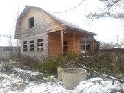 Земельный участок 6 соток с домом( не дострой) вблизи г. Клина в СНТ - Фото 1