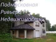 Коттедж в поселке бизнес-класса на участке 10 сот. у р. Клязьма