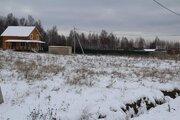 Продается земельный участок 14,2 сотки в ДПК Николино - Фото 1