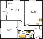 Продам 2-к квартиру, Москва г, Кронштадтский бульвар 6к3 - Фото 1