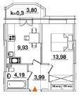 Продажа однокомнатной квартиры в Московском районе - Фото 3