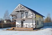 Дом для ПМЖ в деревне Воробьи, 150 м2, 10 соток, Киевское шоссе. - Фото 2