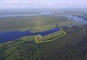 Участок 11 Га, на 1 береговой линии р. Волга, д. Слобода, ИЖС. - Фото 1