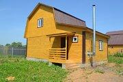 Дом ПМЖ, село Никитское 80 кв м на участке 9.5 соток 55 км от МКАД - Фото 2