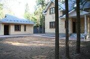 Новый коттедж и баня в лесу, Минское шоссе, КИЗ Зеленая роща, охрана - Фото 2