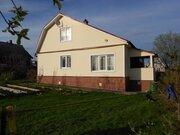 Дом в деревне у большого озера, участок 17 соток, Баня. - Фото 2