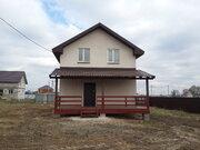 Продается новый дом 117м2, 7 соток, ИЖС, д.Кривцы, Раменский район - Фото 1