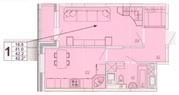 1-комнатная квартира в ЖК Отрадный