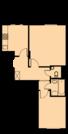 Продам 2-комнатную квартиру 45,5 кв.м. вблизи м. Аннино - Фото 3