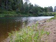 Продаётся земельный участок 25 соток на реке
