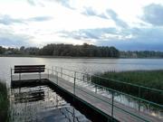 Участок 20 соток на берегу озера, Рузский р-н. - Фото 5
