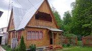 Продается Зимняя дача с баней у леса п.Шугарово, Ступинский р-н - Фото 2