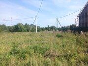 Участок в д. гришино 20 соток Чеховский район. место у леса - Фото 5