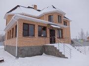 Новый кирпичный дом в д.Подлужье Коломенский р-н, евроотделка. - Фото 1