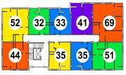 2-Комнатная 44 м2 в жилом комплексе бизнес класса. - Фото 5