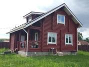 Дом 105 кв.м. из бревна на 10 сотках, всё центральное Чехов, река лес - Фото 1