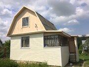 Дом- дача, в жилой деревне, 60 км от МКАД, Чеховский район - Фото 1