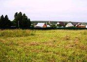 Земельный участок 15 соток д. Тюфанка Чеховский район - Фото 1