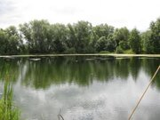 Участок на берегу пруда - Фото 2