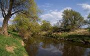 Земельный участок вблизи реки 90 км от МКАД Серпуховский р-н - Фото 1
