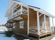 Новый дом из бруса в 85 км от МКАД по Киевскому шоссе, лес, река, ИЖС - Фото 1