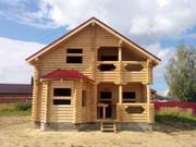 Суздальский р-он.д.Зелени.Новый дом из бревна 165м2. - Фото 1