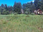 Участок 11 соток, 52 км от МКАД, ПМЖ в д. Асташково, эл-во, соснов.лес - Фото 1