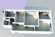 4-комн. Квартира, 65 кв.м, этаж 7/9, 10 мин.пешком м.Текстильщики - Фото 2