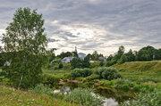 Продается земельный участок на высоком берегу р. Тьма в д. Новинки - Фото 1