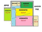 Трехкомнатная квартира, Красное село, улица Освобождения, дом 31к3 - Фото 2