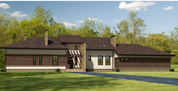 Продажа шикарного дома 490 м2, 30 соток земли, 42 км от МКАД - Фото 4