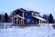 Просторный дом с видом на озеро, рядом с д. Сляднево, Волоколамск - Фото 1