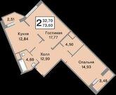 Продажа 2 ком. кв--ры Видное, б-р Зеленые аллеи - Фото 2
