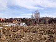 Участок 10 соток в деревне Комлево, город Боровск, 80 км от МКАД - Фото 1