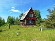 Маленький домик в очень живописном месте рядом с лесным озером - Фото 1