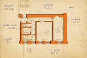 5 999 000 Руб., Продается двухкомнатная квартира в кирпичном доме в 15 мин. от метро, Купить квартиру в Санкт-Петербурге по недорогой цене, ID объекта - 316344236 - Фото 16