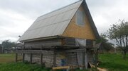 Старый бревенчатый дом на 18,14 сот. земли ПМЖ в д. Хитрово, Боровског - Фото 4