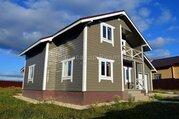 Дом Новый дом с гаражом на участке 12 соток. 63 км от МКАД по Калужско - Фото 1