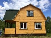 Новый дом в СНТ Лесное - дер.Юрцово - 80 км Щёлковское шоссе - Фото 1
