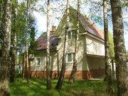 Дом в г. Чехов с центральными коммуникациями на 34 сотках с лесом - Фото 1