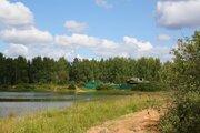 Участок 30 соток в лесу д. Сафоново, Чеховский район. - Фото 1