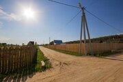 Продается участок 10,2 сотки. Ока, лес. В поселке газ, вода, свет - Фото 4