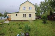 Дом двухэхтажный брусовой на участке 16 соток в д.Малое Маринкино - Фото 1