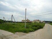 18,5 соток под ИЖС рядом с городом в дер. Бережки, Егорьевский район. - Фото 1