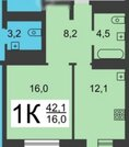 22 000 руб., Сдам 1к. кв, ул.Тимирязева (рн парка Пушкина), совр. ремонт, 14/19эт, Аренда квартир в Нижнем Новгороде, ID объекта - 316917582 - Фото 8