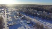 Яхрома участок граничащей с лесом площадью 9 соток 1 км озеро свет - Фото 3