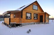 Новый дом в деревне (ИЖС) с магистральным газом,70км от МКАД. - Фото 1