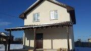 Продается новый дом 142м2, 6,9 сот, Раменский район, д.Кривцы - Фото 1