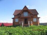 Новый брусовый дом со всеми удобствами, рядом с озером - Фото 1
